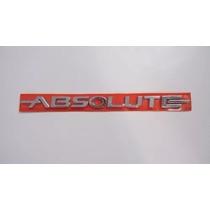 Emblema Absolute Cromado P/ Fiat Linea 09/..