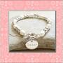 Pulsera De Plata 925 Y Perlas - Personalizada