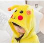 Pijama Pokemon Pikachu Fantasia Infantil - No Brasil