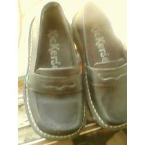 Zapatos Kicker Colegiales Talla 27 Usados Dos Veces