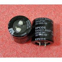 Capacitor Eletrolítico 220uf 400v