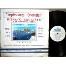 Donato Racciatti Inspiraciones Orientales Tango Lp Patria
