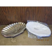 Plato De Aluminio Decorativo En Forma De Ostra