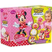 Shaker Maker Arte Em Gesso - Minnie Disney - Dtc