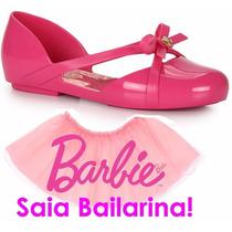 Sapatilha Barbie Ballet Brinde Saia De Bailarina 21391