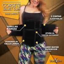 Faja Cinturilla Siluetslim Tipo Colombiana Talle Largo