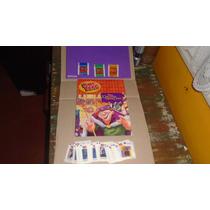 Álbum Corcunda Notre Dame Ping Pong Vazio + Figurinhas Solta