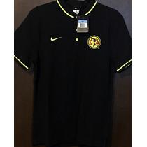 Playera Nike Tipo Polo Club America