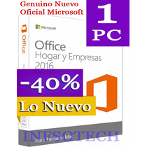 Office Hogar Y Empresas 2016 Window Esd/digital Rtail