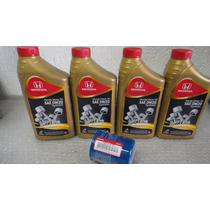 4 Oleo Honda 0w20 Synthetic + Filtro De Oleo Original