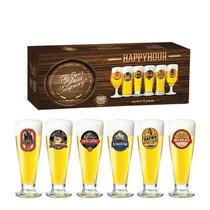 Conjunto 6 Taças Para Cerveja Tulipa Roma 300ml