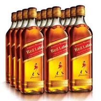 Whisky Johnnie Walker Red Label Original Caixa Com 12l