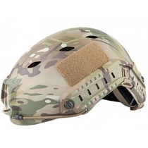 Capacete Tático Emerson Tactical Fast Jump Multicam Airsoft
