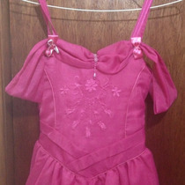 Vestido De Niña Modelo Princesa Talla 08