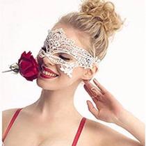 Mascara Noite Sexy Branca E Preta Baile Fantasia Carnaval.