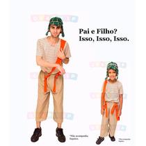 Fantasia Do Chaves Adulto + Infantil Fantasias Pai E Filho