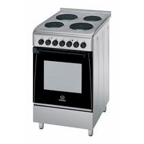 Cocina Indesit Kn3e 51 Acero Electrica 88525