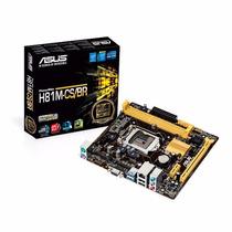 Placa-mãe Asus Micro Atx H81m-cs/br P/ Intel Lga 1150 Ddr3
