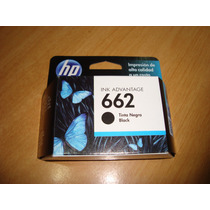 Cartuchos Hp Originales 662 Negro+ 662xl Color *solo Combo*