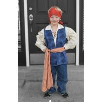 Disfraz Piratas Del Caribe. Niños
