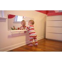 Espelho Montessoriano Deco Seguro Acrílico Quarto Bebe 80x40