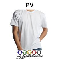 Camiseta Lisa Malha Fria Pv 67% Poliester 33% Viscose