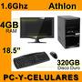 Computadora Athlon 5150 1.6ghz 4gb Ram 320gb Disco Duro