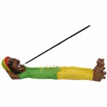 Incensário Bob Marley Deitado Incenso Aromatizador Reggae