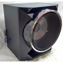 Caixa Subwoofer Sony Gpx55 10 Pol Surround Super Grave Sub
