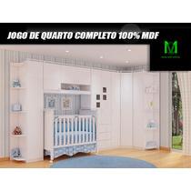 Jogo De Quarto Modulado Para Bebê Completo E Barato + Brinde