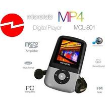 Mp4 8gb Player Lcd 1,8 Color Bateria Recargable Radio Fm