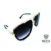 Dita Mach - One Black / Gold Clear Sol0156 Gafas Importadas®