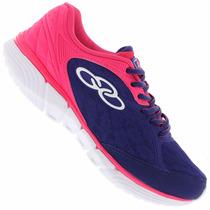 Zapatillas Olympikus Modelo Running Mist Cobalto/pink
