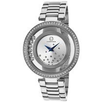 Reloj Cabochon 80418-02s Es Joya Stainless Steel Silver-tone