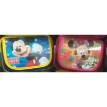 10 Dulcero Mochilita Fiesta Mickey Mouse Y Minnie Mimi