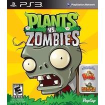 Plants Vs Zombies Para Playstation 3 -ingamemx-