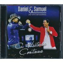 Cd Daniel E Samuel - A História Continua (ao Vivo Goiânia)
