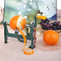 Pelador De Frutas Naranja Manzana De Acero Inoxidable