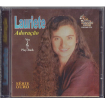 Cd Lauriete - Adoração (bônus_playback)