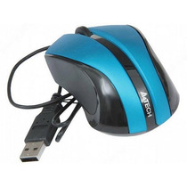 Mouse A4tech N 310 Blue Ideal Notebooks - No Necesita Pad
