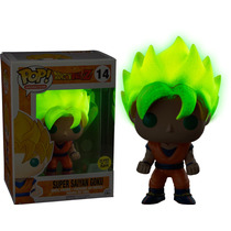Funko Pop Dragon Ball Z - Super Saiyan Goku Glow Pop!