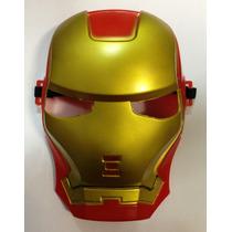 Máscara Do Homem De Ferro - Vingador Fantasia Cosplay