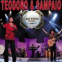 Teodoro & Sampaio Ao Vivo Convida Cd Lacrado Original