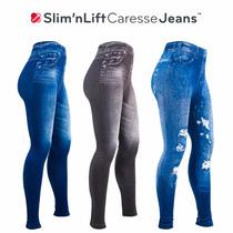 Slim Lift Caresse Jeans Levanta Cola Aplana Abdomen Leggins