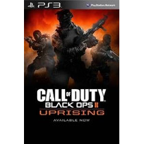Call Of Duty Operaciones Negro Ii: Uprising Dlc ¿¿- Ps3 [cód
