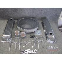 Ford 302 289 351w Kit De Tapas, Mariposas Y Filtro Cromado