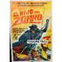 Afiche El Hijo Del Zorro - Alberto Dell