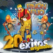 Cd Piñon Fijo 20 Exitos Originales Nuevo