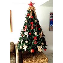 Decoração Para Árvore Natal Básica Com Pisca Leds