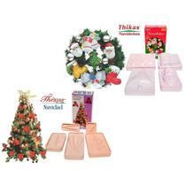 Moldes Flores Y Figuras De Foamy Navidad - Termoformado